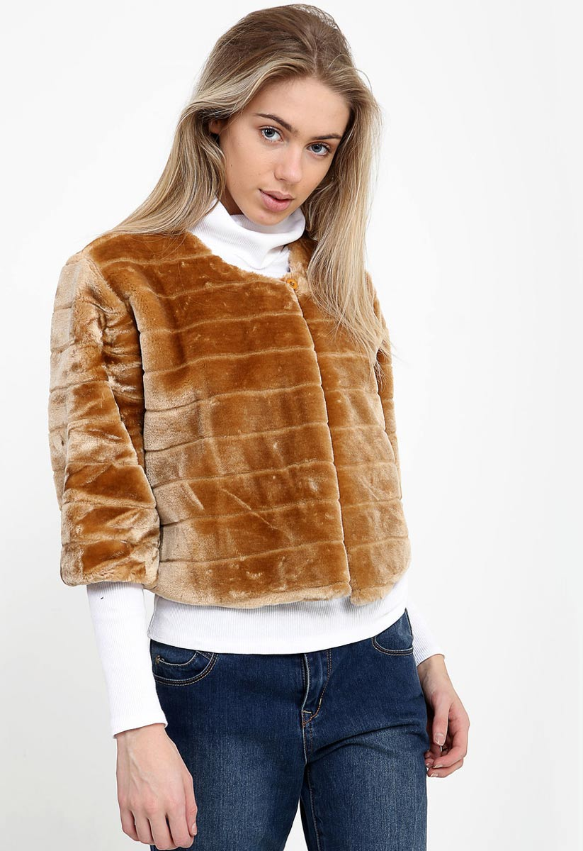 Free shipping BOTH ways on faux fur jackets vests, from our vast selection of styles. Fast delivery, and 24/7/ real-person service with a smile. Click or call