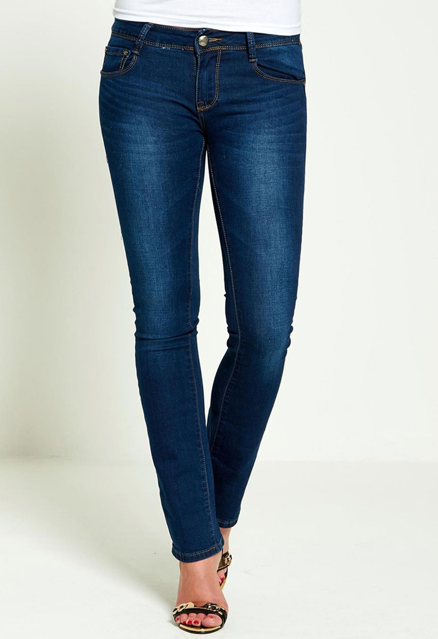 Denim Boot Cut Skinny Jeans (Size 6)